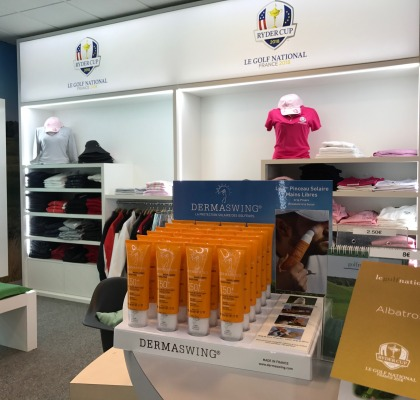 DERMASWING est au GOLF NATIONAL, le golf de la RYDER CUP 2018 !